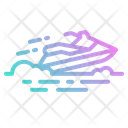 Jet Ski Sea Icon