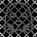 Seal Sea Face Icon