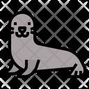 Seal Sea Marine Icon