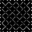 Seamless Pattern Art Icon