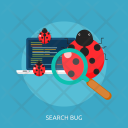 Search Bug Error Icon