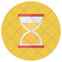 Search Magnifying Hourglass Icon