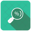 Search Magnifier Discount Icon
