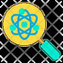 Atomic Research Atom Research Atomic Search Icon