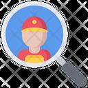 Search Magnifier Box Icon