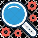 Search Maintenance Cogwheel Icon