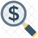Search Dollar Money Icon