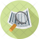 Search Item Code Icon