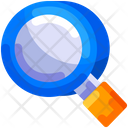 Search Magnifying Glass Education Icon