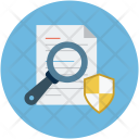Search Paper Document Icon