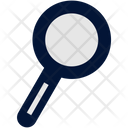 Education Flat Search Icon