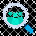 Search Customer Headhunting Icon