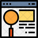 Website Page Browser Icon