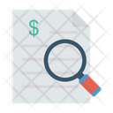 Search Invoice Document Icon