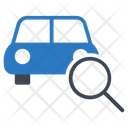 Search Vehicle Car Icon