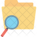 Search Folder Search File Magnifier Icon