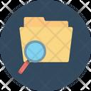 Search Folder Search File Magnifier Icon