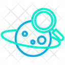 Saturn Planet Planet Searching Icon