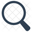 Detective Loupe Magnifying Glass Icon