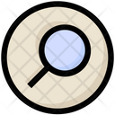 Social Magnify Glass Find Icon