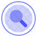 Search Exploration Zoom Icon