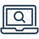Seo Web Laptop Icon