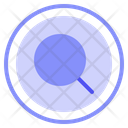 Research Exploration Zoom Icon