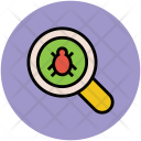 Search Bug Magnifier Icon
