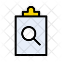 Search Project Clipboard Icon