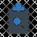Search Project Clipboard Icon