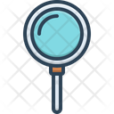 Search Discovery Magnifier Icon