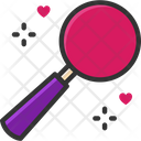 M Magnifying Glass Search Find Icon