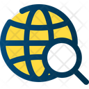 Global Search Seo Icon