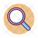 Search Magnifying Discovery Icon