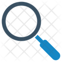Find In Magnifying Glass Icon