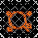 Search Magnifier Calendar Icon