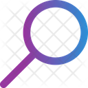 Search Magnifying Glass Loupe Icon