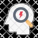 Search Mind Creative Icon