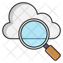 Search Cloud Find Icon