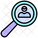 Magnifying Search Hunting Icon