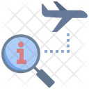 Information Travel Finding Icon