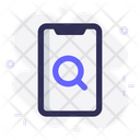 Mobile Find Search Icon