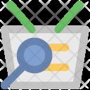 Search Basket Shopping Icon