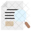 Search Investigation Evidence Icon