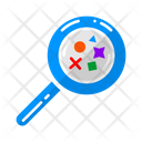 Process Search Magnifying Icon