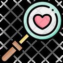 Search Love Valentine Icon