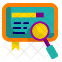 Search Tablet Research Icon