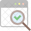 Audit Check Search Icon