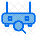 Search Router Connection Icon