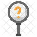Search Question Zoom Icon
